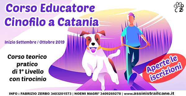 cani d'assistenza corso educatore catania